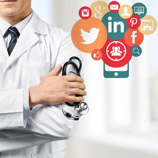 Divulgação de assuntos médicos nas redes sociais